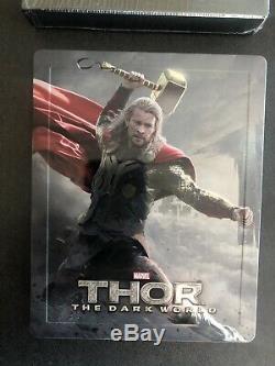 Steelbook Blufans Lenticular Thor 2 The Dark World