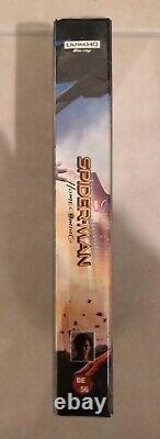 Steelbook Blufans Spider-man Homecoming Double Lenti 4k 3d 2d Nine / New