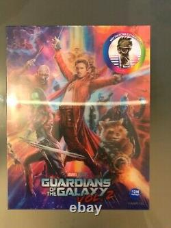 Steelbook Guardians Of The Galaxy 2 Lenticulair Weet Edition