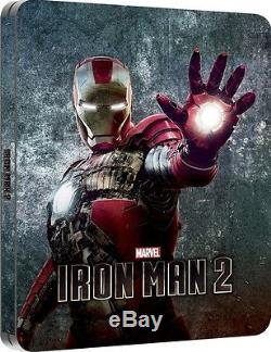 Steelbook Iron Man 2 Edition Zavvi Limited 4000 Ex Lenticular