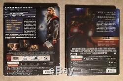 Steelbook Iron Man + Thor Dark World Edition 1/4 Slip Blufans