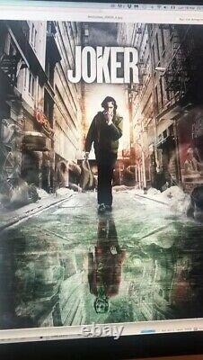 Steelbook Joker Cinemuseum Lenticular Edition New Sealed