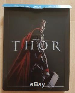Steelbook Rare Thor Blu-ray 3d + 2d + DVD Edition Fnac