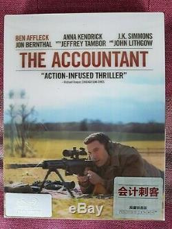 Steelbook The Accountant (mr. Wolff) Blu-ray Exclusive Hdzeta