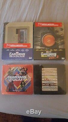 Steelbook The Guardians Of The Galaxy 1 And 2 Edition Fnac + Steelbook Band