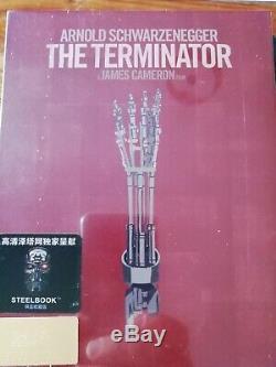 Steelbook The Terminator Fullslip Hdzeta New