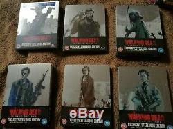 Steelbook The Walking Dead Season 1-6 Zavvi, Uk, New, Sealed