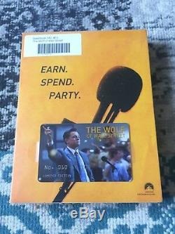 Steelbook The Wolf Of Wall Street Edition Filmarena Fac # 010/100