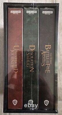 Steelbook Trilogy Hobbit Edition Hdzeta Special Box 4k New / New