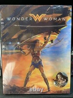 Steelbook Wonder Woman Blufans Double Lenticular New Sealed