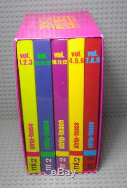 Strip Tease Box Vol. 1 To 15 Dvds