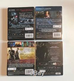 Terminator 1.3.4.5 Steelbook Hdzeta All With Same Number New & Sealed