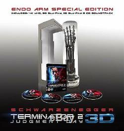 Terminator 2 Endoarm Special Edition 3 Blu-ray + CD Limited Edition 1200 Copies