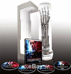 Terminator 2 Limited Edition Collector Ultimate 4k 3d 2d Blu-ray Bo CD
