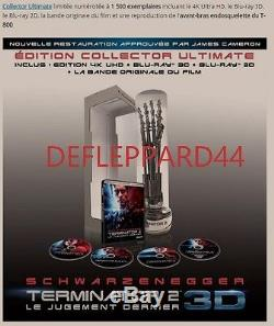 Terminator 2 The Last Judgment 3d / 4k Limited Collector's Edition Blu-ray Preco