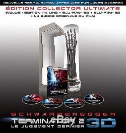 Terminator 2 Ultimate Collector's Edition Numbered 4k Ultra Hd + 3d Blu-ray 3d