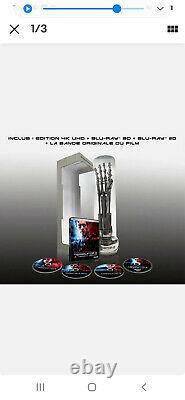 Terminator Collector 2 Blu Ray Box With 4k Numbered T800 Arm