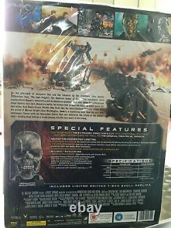 Terminator Salvation Skull T600 Limited Edition Blu-ray Director's Cut