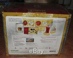 The Chronicles Of Narnia 4 DVD Collector's Box + 9 February Figurines Blister Vf