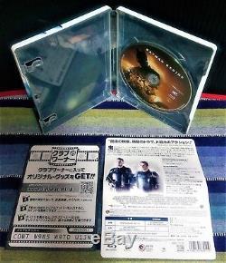 The Dark Knight / Batman Begins - Blu-ray Steel Book Rare From Japan Amazon
