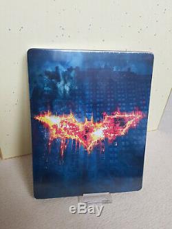 The Dark Knight Hdzeta Exclusive Steelbook Bluray 4k New