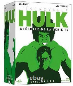 The Incredible Hulk The Integrale Of La Serie DVD Nine