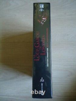 The London Wolf Garou (an American Werewolf In London) Blu-ray 4k Box Set New