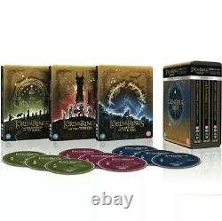 The Lord Of The Rings Blu-ray 4k Steelbook The Lord Of The Rings Trilogy