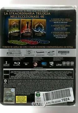 The Lord Of The Rings / The Lord Of The Rings Steelbook 4k New Under Blister