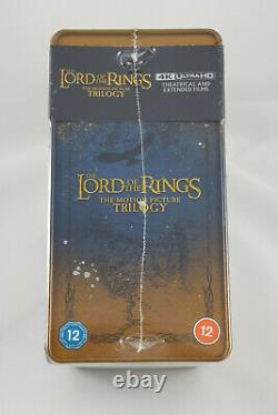 The Lord Of The Rings Trilogy Limited Edition 4k Steelbook Collection