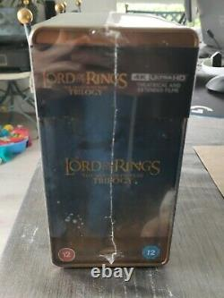 The Lord Of The Rings Trilogy. Steelbook 4k Lord Of The Rings