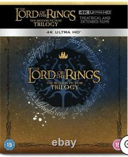 The Lord Of The Rings Trilogy The Lord Of The Ring 4k Steelbook