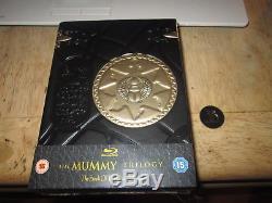 The Mummy Trilogy Uk Everythingblu Blu Pick 002 Blu-ray 3x Steelbook Premium C