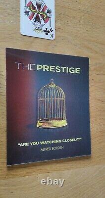 The Prestige Uhd Club Lenticular Slip (digipack 4k Bonus Disc) 200 Copies