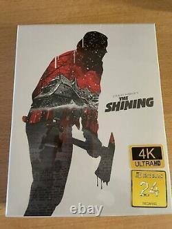The Shining Filmarena Black Barons Numbered - Sealed- #123/500 -4k-br Steelbook