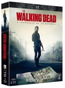 The Walking Dead Collector Season 5 Blu-ray Edition With French Version