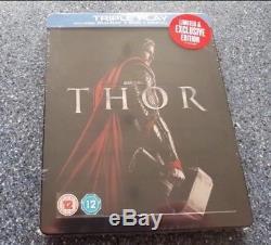 Thor Steelbook Blu Ray Hmv Edition Sealed / Vf