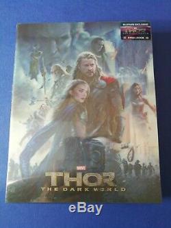 Thor The Dark World Lenticular Blufans. Be # 15. N ° 0128, New, Under Blister
