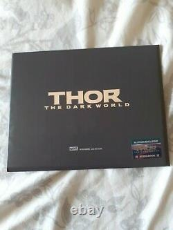 Thor The Dark World Lenticular Fullslip Steelbook Blufans Edition Like New