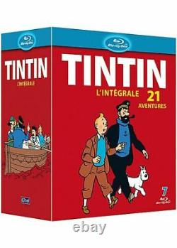 Tintin The Complete Animation Box Set 21 Limited New Blu-ray Adventures