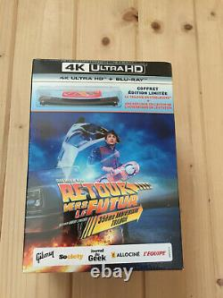 Trilogy Back To The Future Collector's Box 4k Nine