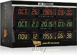 Trilogy Back To The Future Edition 35th Anniversary Circuits Temporels 4k