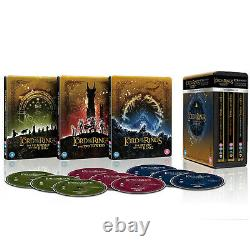 Trilogy The Lord Of The Rings Collection Steelbook Blu-ray 4k Ultra Hd