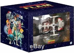 Ultimate Captain Future Remastered Collector Bluray + Exclusive Action Figure New