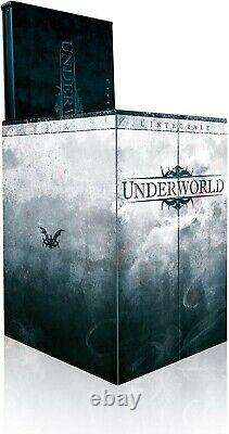 Underworld The Complete Collector's Edition Limited 4 Blu-ray - 4 Dvds - Statuette