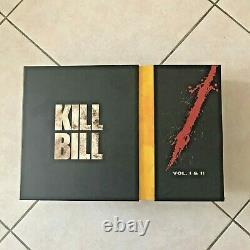 Unique Box Kill Bill 1 & 2 On Blu-ray