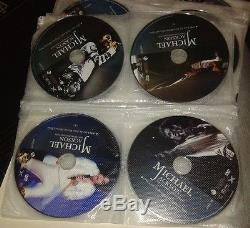 Unusual Michael Jackson Case Malette 32 DVD 1 CD The Ultimate Collection