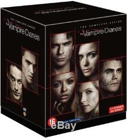 Vampire Diaries Integral Box Of Season 1 To 8