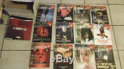 Very Large Batch DVD Collection Booklets Horror Movies 100% Anguish