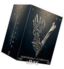 Vikings Complete Seasons 1-5 Blu Ray Import Audio With French